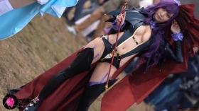 Sayaka Nidori Extreme Exposure Cosplay Macro Smash Cross F/Sheryl Black Rabbit024