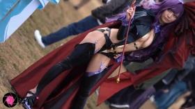 Sayaka Nidori Extreme Exposure Cosplay Macro Smash Cross F/Sheryl Black Rabbit026