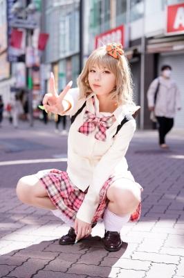 Kikuchi Hina a beautiful Miss Maga girl turns into a gal003