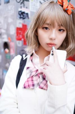 Kikuchi Hina a beautiful Miss Maga girl turns into a gal002