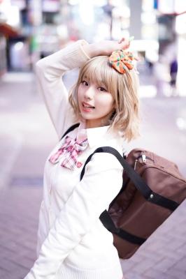 Kikuchi Hina a beautiful Miss Maga girl turns into a gal004