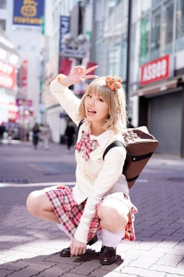 Kikuchi Hina a beautiful Miss Maga girl turns into a gal027