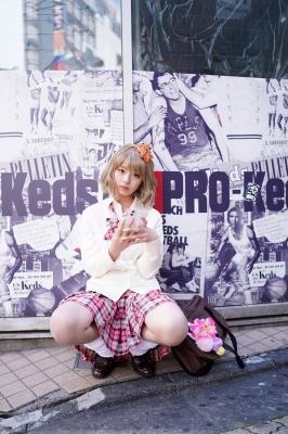Kikuchi Hina a beautiful Miss Maga girl turns into a gal029