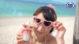 Mihana Hirose Bikini CM Mini Stop Halo Halo Nerin Milk Strawberry003