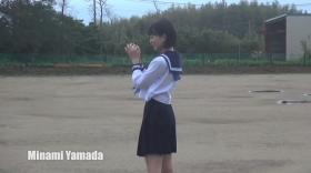 Minami Yamada White Swimsuit Baseball White Bikini013