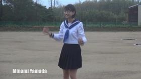 Minami Yamada White Swimsuit Baseball White Bikini017