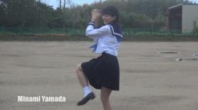 Minami Yamada White Swimsuit Baseball White Bikini014