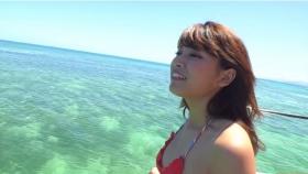 Ikuumi Hisamatsu frolicking on the beach009