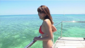 Ikuumi Hisamatsu frolicking on the beach015