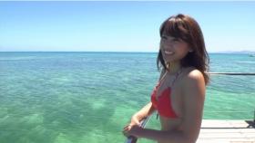 Ikuumi Hisamatsu frolicking on the beach016