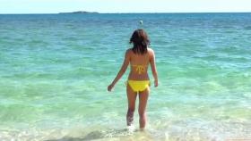 Ikuumi Hisamatsu frolicking on the beach076