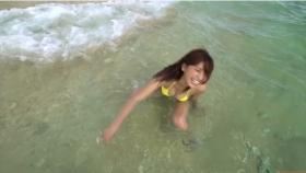 Ikuumi Hisamatsu frolicking on the beach098