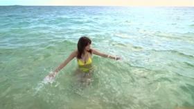 Ikuumi Hisamatsu frolicking on the beach105