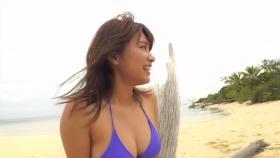 Ikuumi Hisamatsu frolicking on the beach161