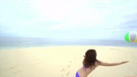 Ikuumi Hisamatsu frolicking on the beach174