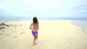 Ikuumi Hisamatsu frolicking on the beach172