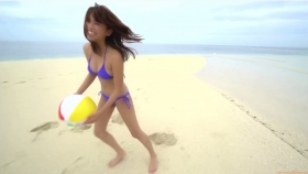 Ikuumi Hisamatsu frolicking on the beach176
