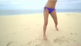 Ikuumi Hisamatsu frolicking on the beach191