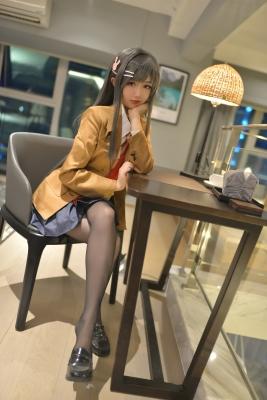 Mai Sakurajima Uniform Bunny Girl Youthful Pi g Bastard Doesnt See Bunny Girl Senpais Dream001
