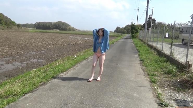 Ayuna Nitta swimsuit gravure Japans cutest high school girls fleshy body025