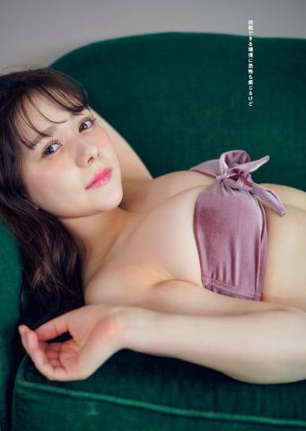 Ayuna Nitta swimsuit gravure Japans cutest high school girls fleshy body005