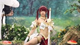 Enako Moe Iori Kokoro Shinozaki, White Bikini Bikini Armor016