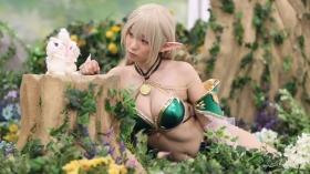 Enako Moe Iori Kokoro Shinozaki, White Bikini Bikini Armor044