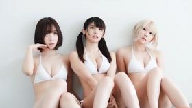 Enako Moe Iori Kokoro Shinozaki, White Bikini Bikini Armor071