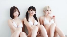 Enako Moe Iori Kokoro Shinozaki, White Bikini Bikini Armor070