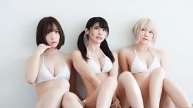 Enako Moe Iori Kokoro Shinozaki, White Bikini Bikini Armor072