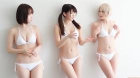 Enako Moe Iori Kokoro Shinozaki, White Bikini Bikini Armor104