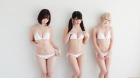 Enako Moe Iori Kokoro Shinozaki, White Bikini Bikini Armor108