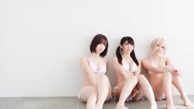 Enako Moe Iori Kokoro Shinozaki, White Bikini Bikini Armor123