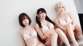 Enako Moe Iori Kokoro Shinozaki, White Bikini Bikini Armor126