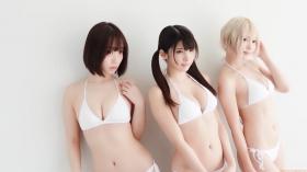Enako Moe Iori Kokoro Shinozaki, White Bikini Bikini Armor121