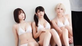 Enako Moe Iori Kokoro Shinozaki, White Bikini Bikini Armor128
