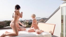 Enako Moe Iori Kokoro Shinozaki, White Bikini Bikini Armor165