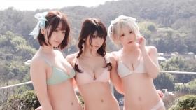 Enako Moe Iori Kokoro Shinozaki, White Bikini Bikini Armor194