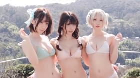 Enako Moe Iori Kokoro Shinozaki, White Bikini Bikini Armor195