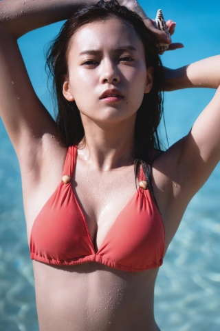Yume Shinjo Swimsuit Gravure Photo Book Yumeiro t005
