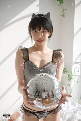 Cat bikini bet Korean gravure model004