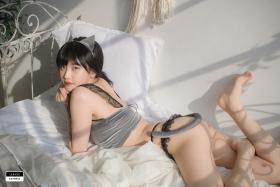 Cat bikini bet Korean gravure model023