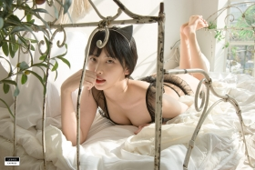 Cat bikini bet Korean gravure model025