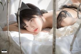 Cat bikini bet Korean gravure model039