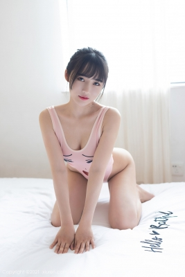 Tang Xin HighLegged Leotard Swimsuit011