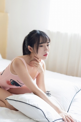 Tang Xin HighLegged Leotard Swimsuit019