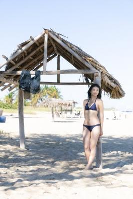 Projecl Blue Swimsuit Blue Bikini010