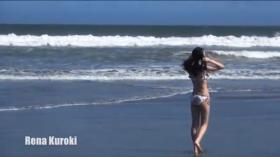 Rina Kuroki Aquatic portrait Coastal Sea001
