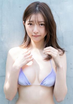 Moeka Hashimoto excellent style white soft elegant body012