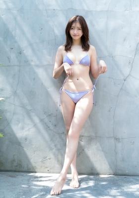 Moeka Hashimoto excellent style white soft elegant body011